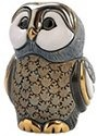 De Rosa Collections F328B Blue Tawney Owl II Baby