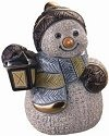 De Rosa Collections S05 Snowman in Sled Snowman Collection