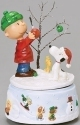 Peanuts by Roman 132508 Charlie Brown Windup Musical Figurine