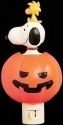 Peanuts by Roman 134755 Snoopy In Jack-O-Lantern Nightlight