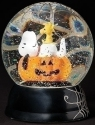 Peanuts by Roman 134758 Snoopy Halloween Swirl LED Dome - DS