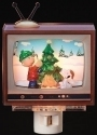 Peanuts by Roman 160263 TV Tree Decorating Nightlight