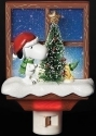Peanuts by Roman 30276 Snoopy Xmas Tree Nightlight