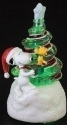 Peanuts by Roman 34455 Snoopy Swirl Tree Figurine LED Lighted