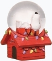 Peanuts by Roman 36548 Snoopy Holiday Mini Dome