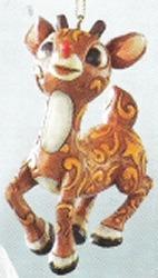 Jim Shore Rudolph Reindeer 4008344 Rudolph Hanging Ornament Ornament