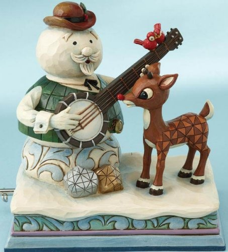 Jim Shore Rudolph Reindeer 4013874 Rudolph and Sam Musical