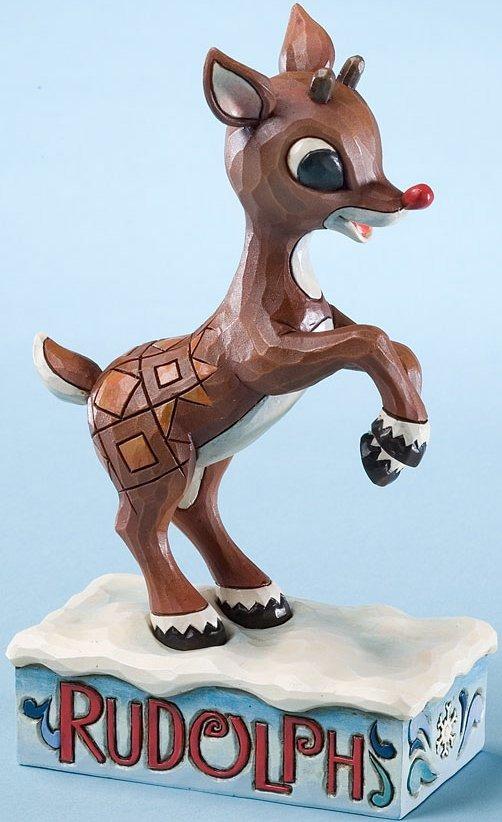 Jim Shore Rudolph Reindeer 4023448 Rudolph Learning Figurine