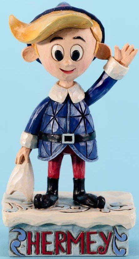 Jim Shore Rudolph Reindeer 4025921 Hermey Pose Figurine