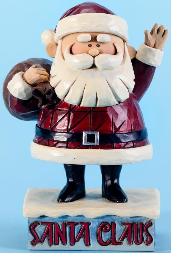Jim Shore Rudolph Reindeer 4025923 Santa Pose Figurine