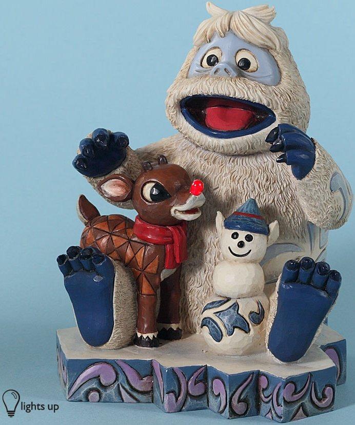 Jim Shore Rudolph Reindeer 4028691 Rudolph & Bumble 6 Figurine