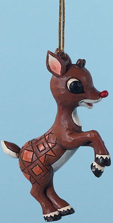 Jim Shore Rudolph Reindeer 4029462 Person Ornament