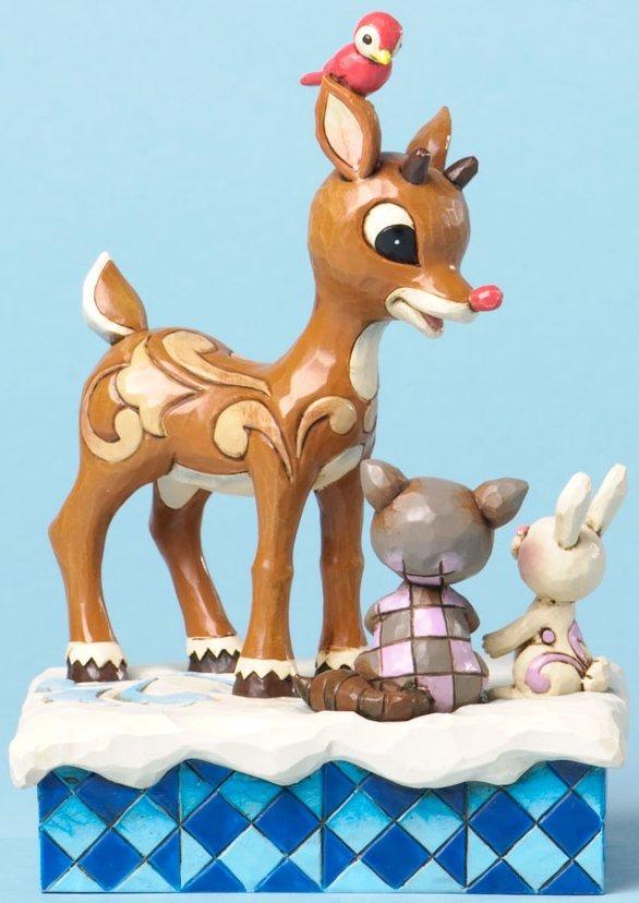 Jim Shore Rudolph Reindeer 4034893 Rudolph & Friends