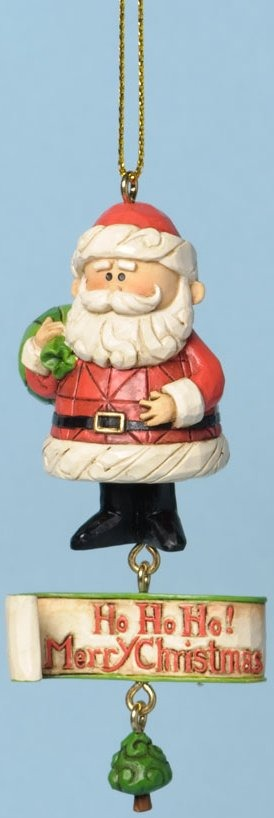 Jim Shore Rudolph Reindeer 4034895 Santa Ho Ho Ho