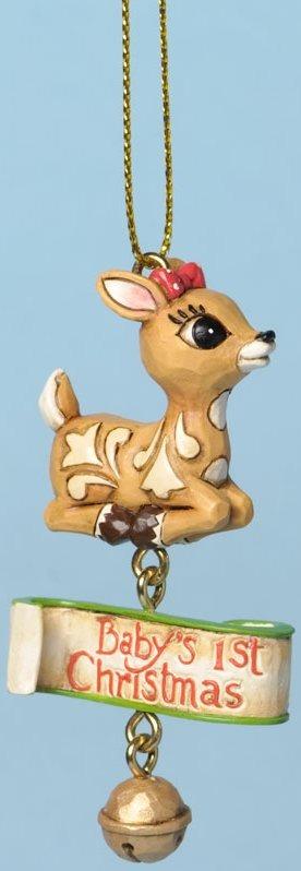 Jim Shore Rudolph Reindeer 4034896 Baby Clarice