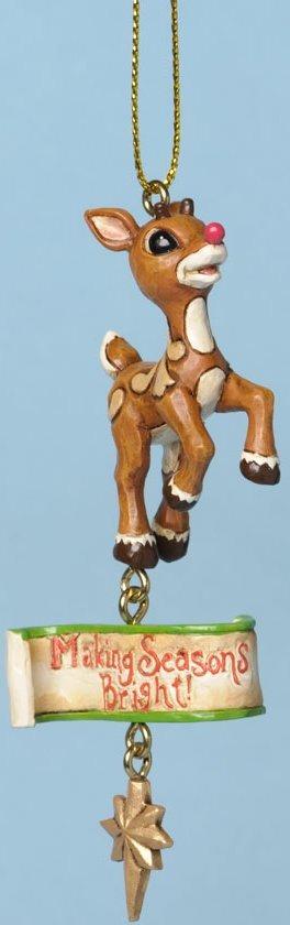 Jim Shore Rudolph Reindeer 4034899 Rudolph