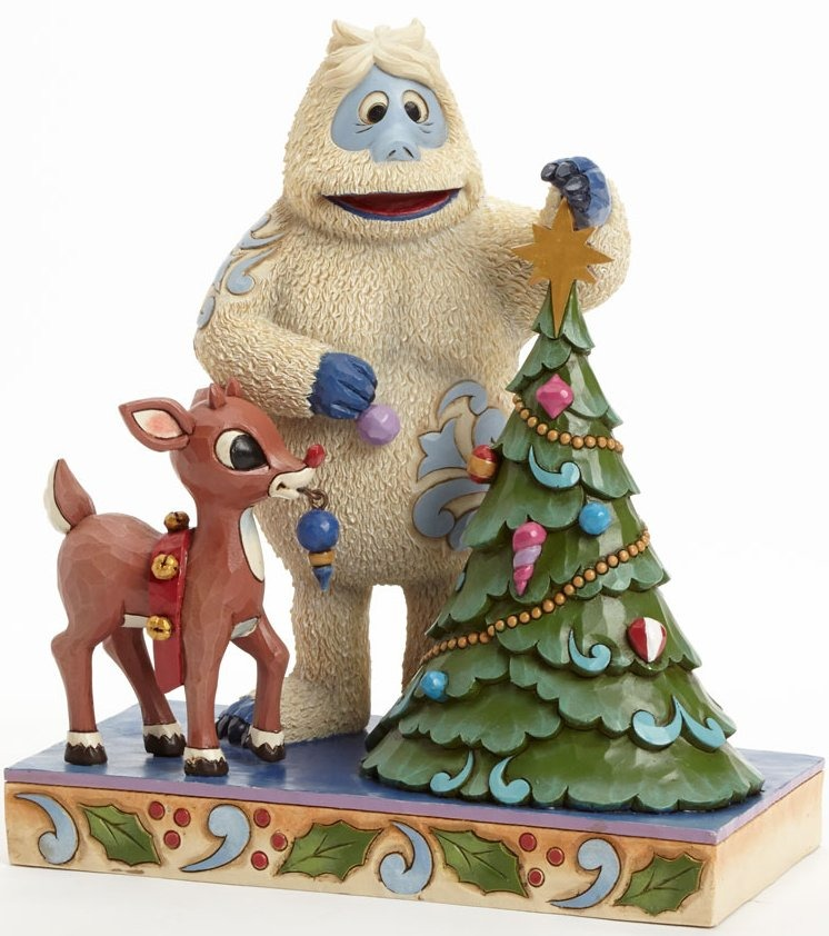 Jim Shore Rudolph Reindeer 4041644 Bumble and Rudolph