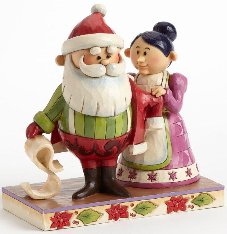 Jim Shore Rudolph Reindeer 4041645 Santa & Mrs. Claus