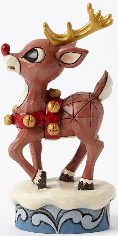 Jim Shore Rudolph Reindeer 4041646 Rudolph & Gold Accents