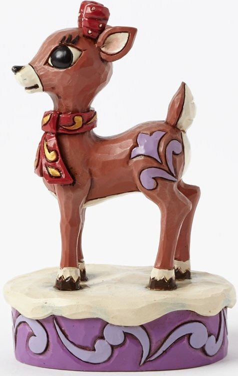 Jim Shore Rudolph Reindeer 4041647 Clarice Personality Pose