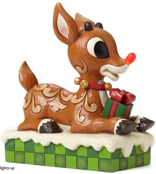Jim Shore Rudolph Reindeer 4048591 13 Rudolph w Light