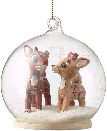 Jim Shore Rudolph Reindeer 4053079 Rudolph & Clarice
