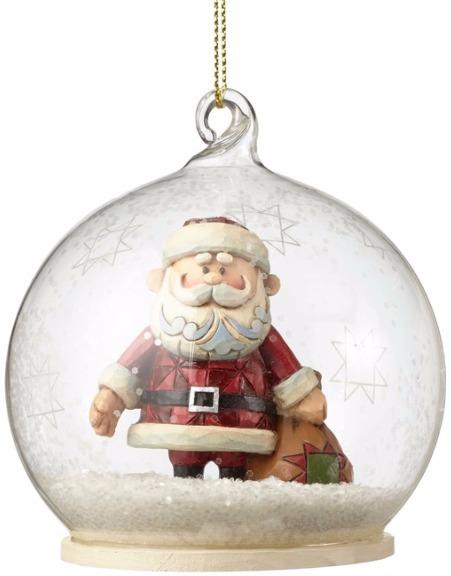 Jim Shore Rudolph Reindeer 4053080 Santa Ornament