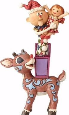 Jim Shore Rudolph Reindeer 4058341 Rudolph w Misfits