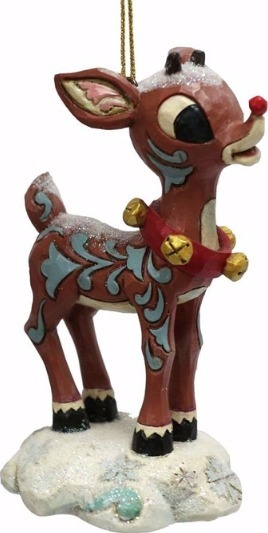 Jim Shore Rudolph Reindeer 4058350 Snow Covered Rudolph