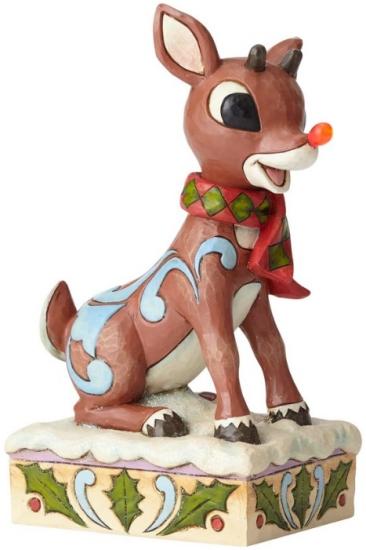 Jim Shore Rudolph Reindeer 6001591 Rudolph with Light U