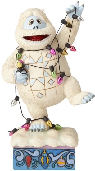 Jim Shore Rudolph Reindeer 6001592 Bumble Wrapped in Lights