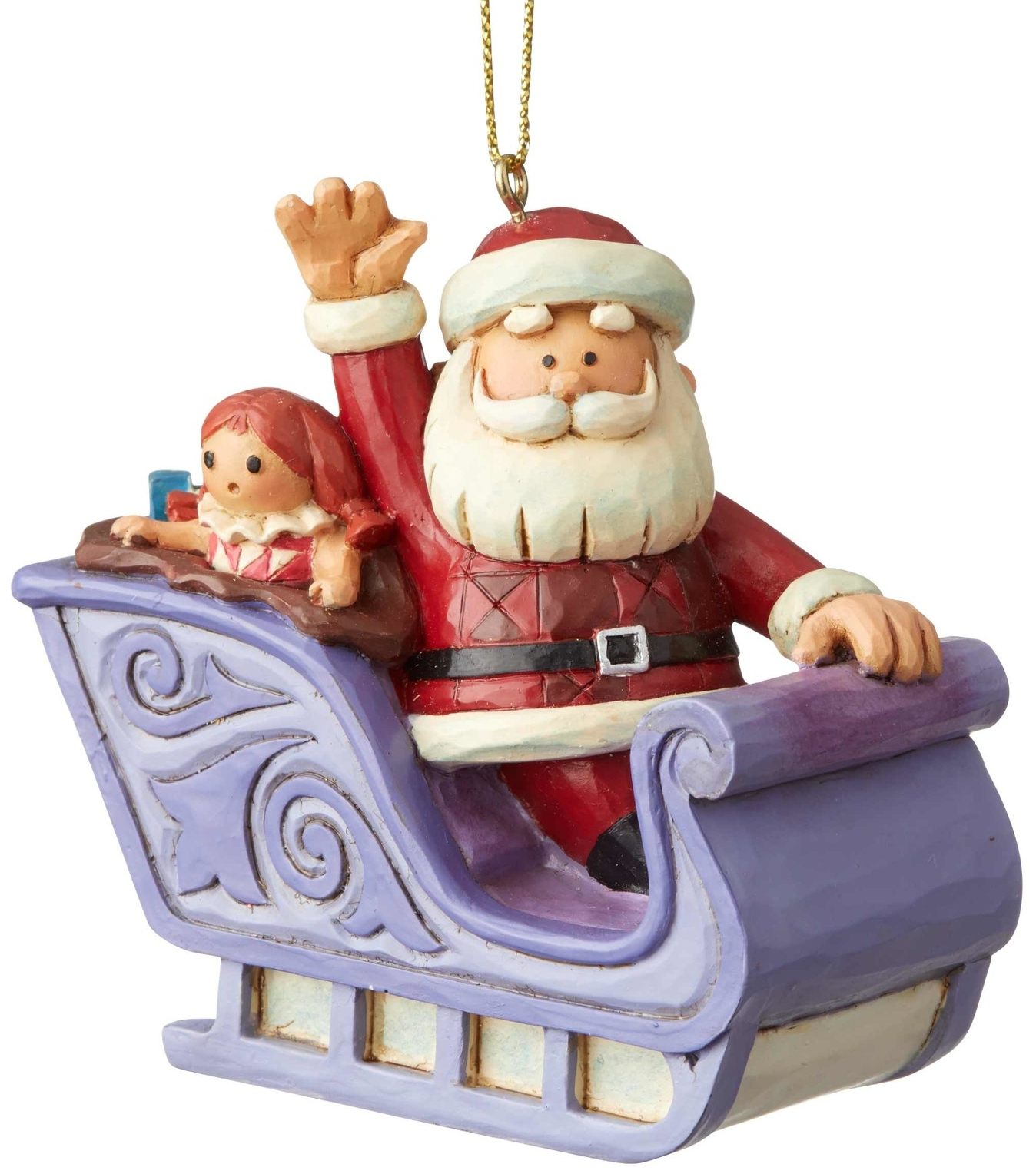 Rudolph Traditions by Jim Shore 6004149 Santa In Sleigh