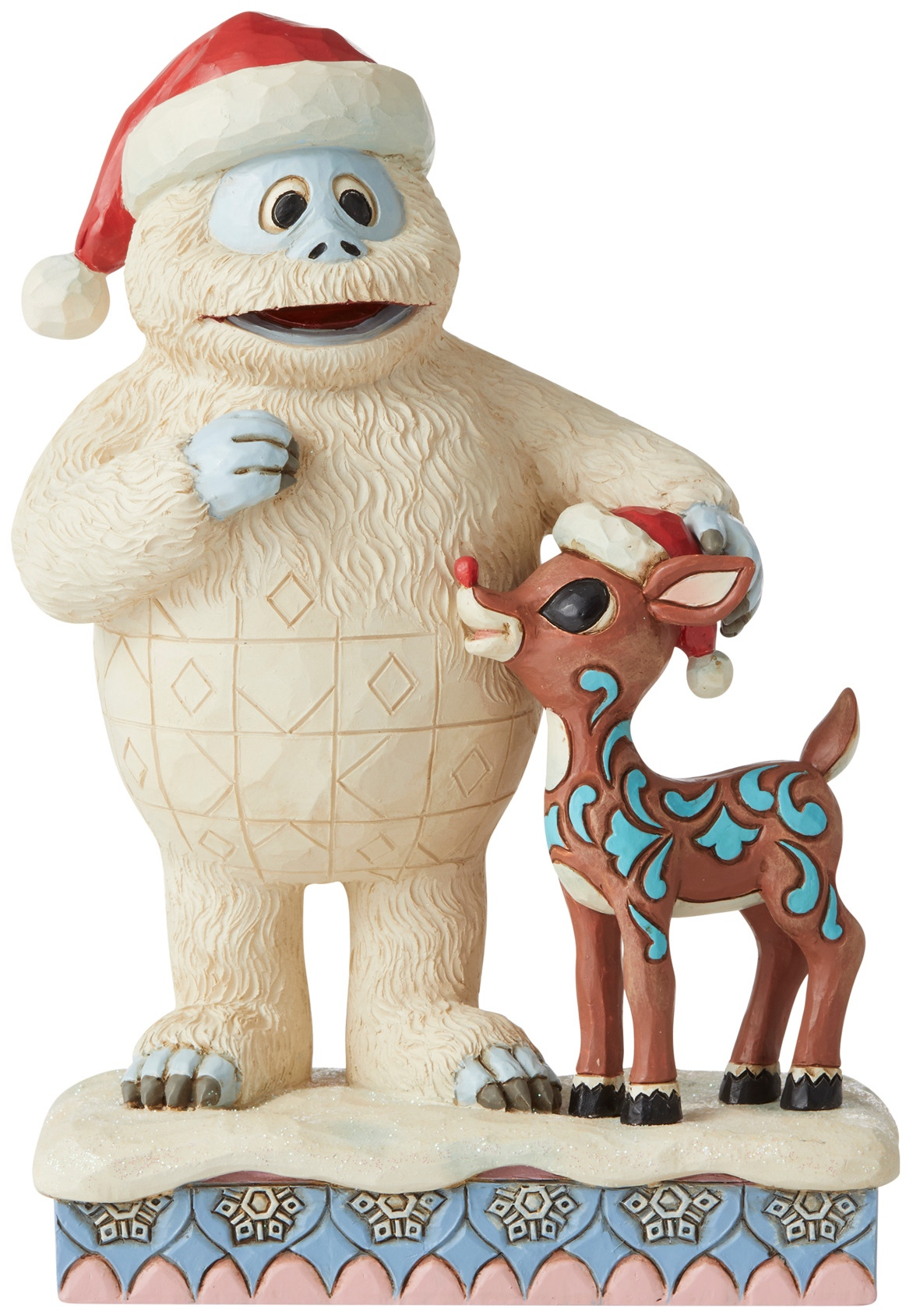 Jim Shore Rudolph Reindeer 6006791N Bumble With Rudolph Figurine