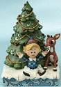 Jim Shore Rudolph Reindeer 4013873 Rudolph and Hermey Figurine