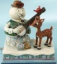 Jim Shore Rudolph Reindeer 4013874 Rudolph and Sam Musical