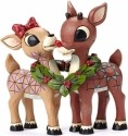 Jim Shore Rudolph Reindeer 4053069 Rudolph and Clarice