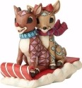 Jim Shore Rudolph Reindeer 4058339 Rudolph and Clarice