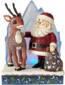 Jim Shore Rudolph Reindeer 6001589 Lighted Rudolph and