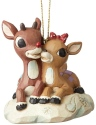 Jim Shore Rudolph Reindeer 6004150 Rudolph and Clarice