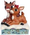 Jim Shore Rudolph Reindeer 6006790N Rudolph and Clarice Figurine