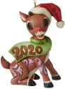 Jim Shore Rudolph Reindeer 6006795N Rudolph 2020 Dated Ornament