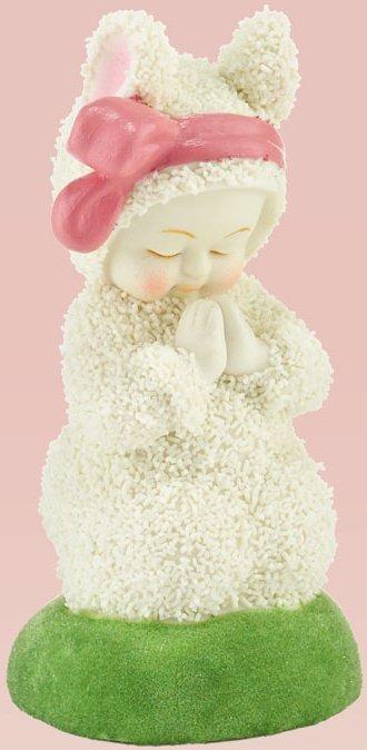 Snowbunnies 4030803 Bunny Prayers Figurine