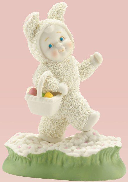Snowbunnies 4030804 Hoppin' Down The Bunny Trail Figurine