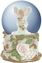 Studio H - Heather Goldminc 15458 Forever Rose Musical 100mm Waterglobe