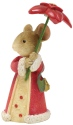 Tails with Heart 6001387 Pointsetta Umbrella Mouse