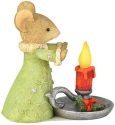 Tails with Heart 6003900 Mouse With Candle