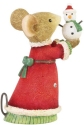 Tails with Heart 6008768N Tiny Snowman Figurine