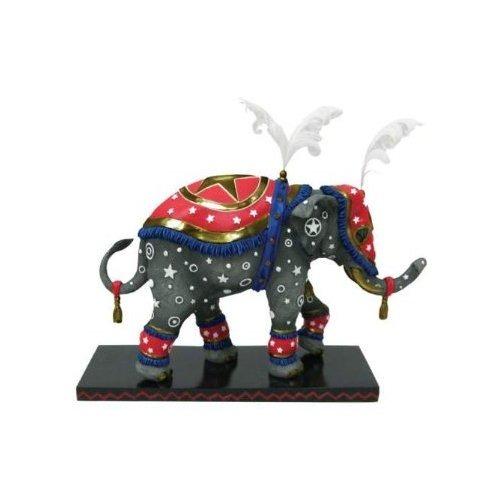 Tusk 13074 Circus Star Elephant Figurine