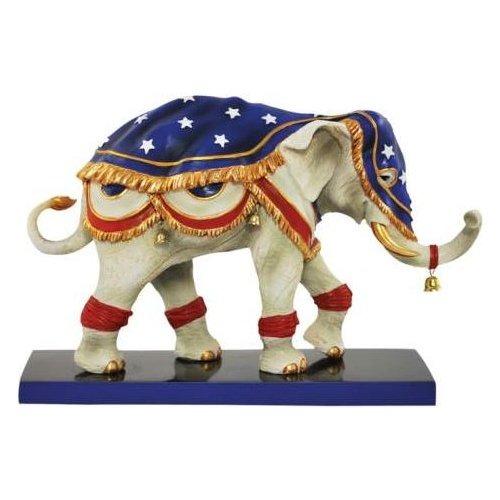 Tusk 13079 Liberty Bell-Ephant Figurine