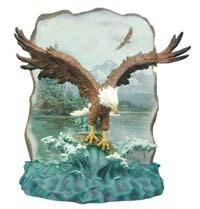 Wildlife 7978 Rock Plaque